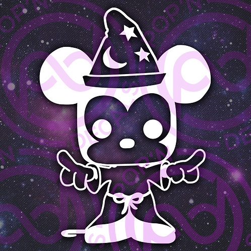 Sorcerer Mickey Decal