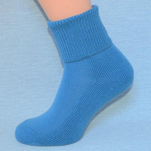Cashmere Lounge Sock - Wedgewood Blue