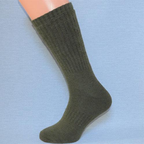 Lightweight Activity Crew Sock - Woodland Green