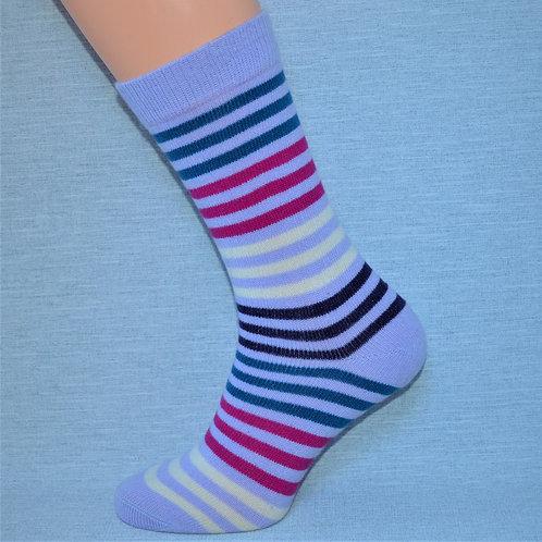 Cashmere Multi-Stripe - Lilac