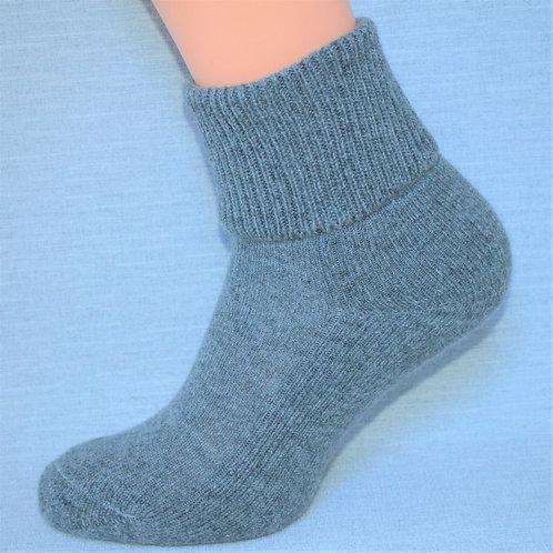 Cashmere Lounge Sock - Grey