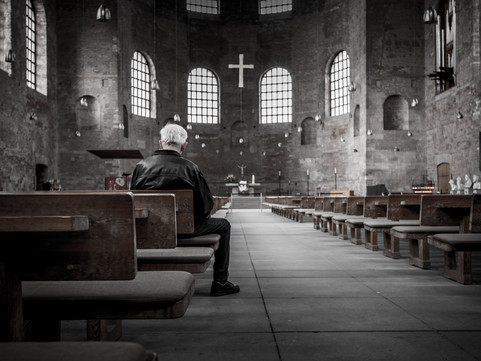 Why Is Church So Scary During Our Grief?