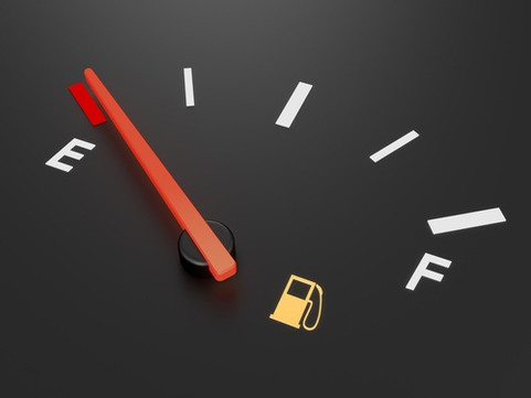 The Low Fuel Light is on. Do you refuel? Or push the accelerator?