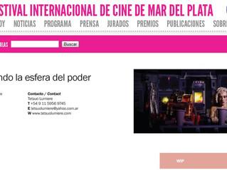 BUSCANDO LA ESFERA DEL PODER - Work in Progress en el Festival Internacional de Mar del Plata