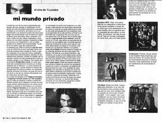 PAGINA 12 / MI MUNDO PRIVADO