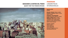URUGUAY FILM FEST - PANORAMA LARGOMETRAJES INTERNACIONALES