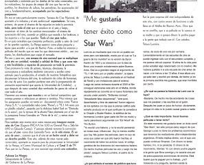 "LA ARENA - TETSUO LUMIERE, REALIZADOR ""EXTRATERRESTRE"""