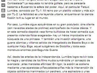 PAGINA 12 - LAS BOLAS AL PLATÓ