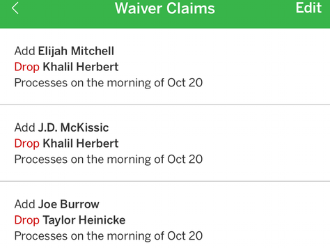 How To Waiver Wire