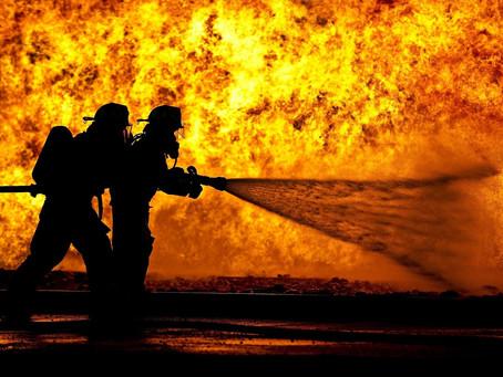 Nos Sapeurs Pompiers à l'honneur