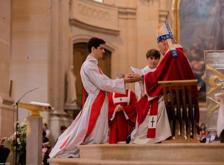 Cinq nouveaux prêtres pour nos paroisses