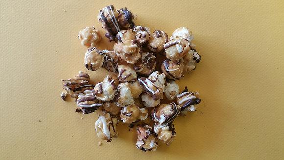 Chocolate Covered Caramel Popcorn