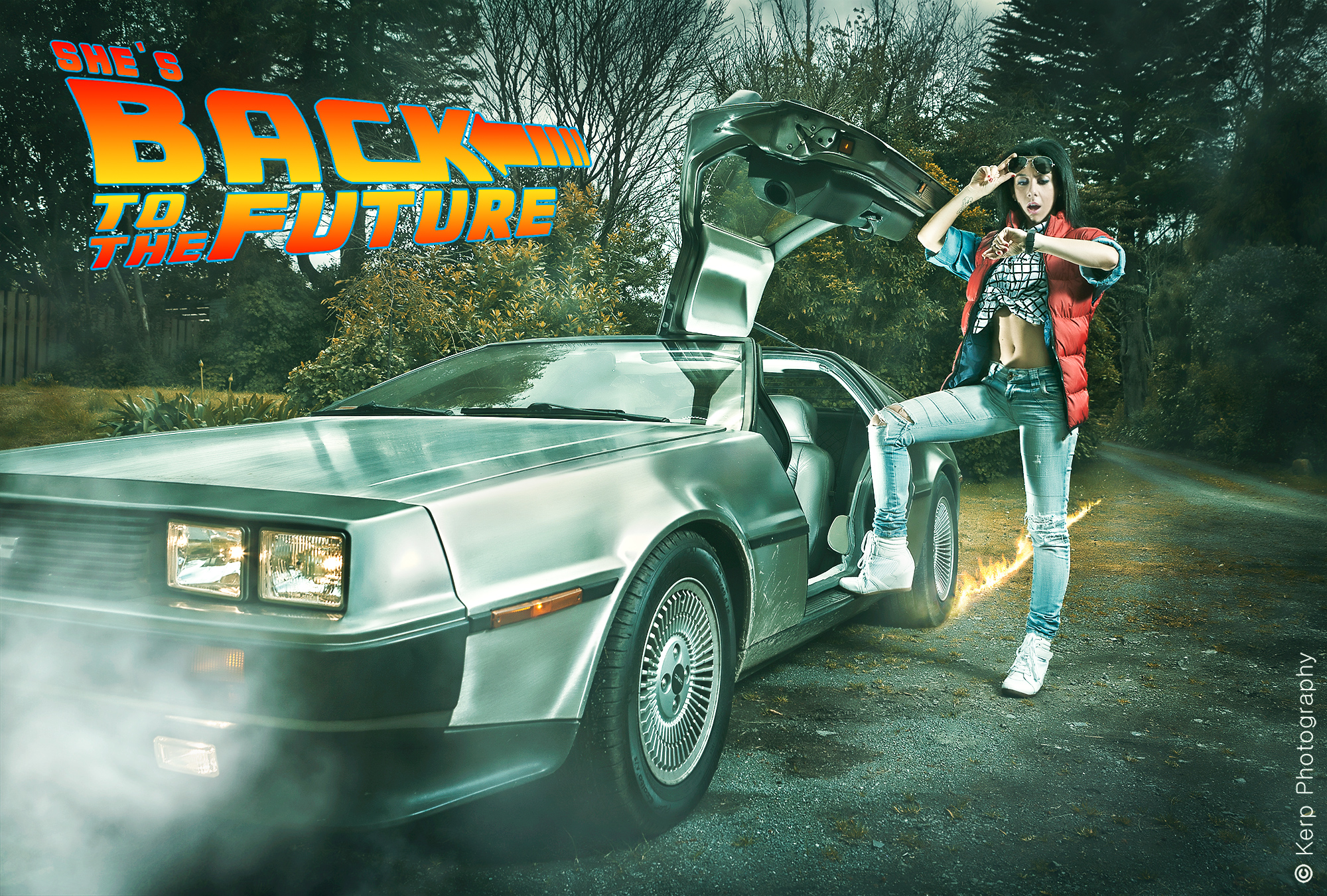 She's Back to the Future