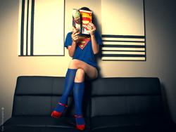 Superman girl fan