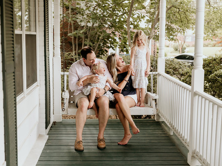 The R Family | Virginia Beach Front Porch Session