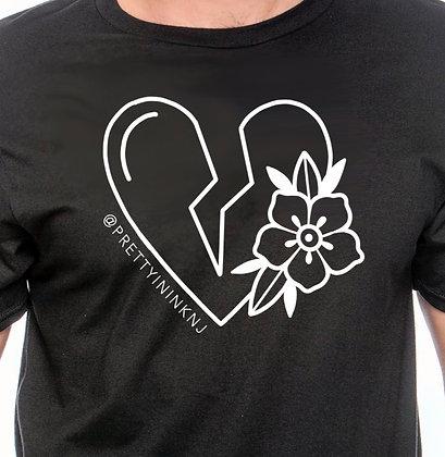 BROKEN Heart -Unisex- Black