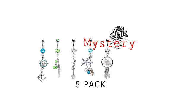5 PACK - Belly Dangle Pre-Mixed Package