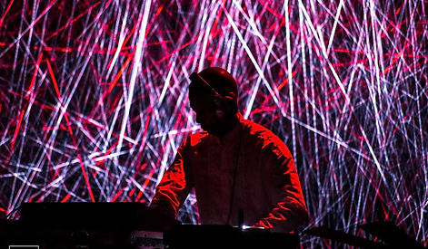 Jeff Mills visuals by Efren Mur