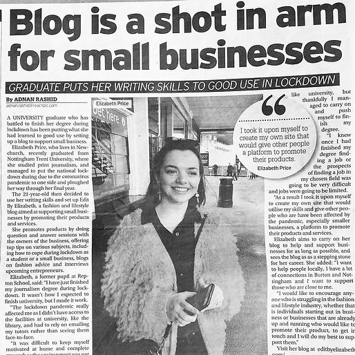 Burton Mail (07/06/2020) pg. 10.