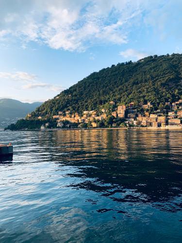View of Lake Como.