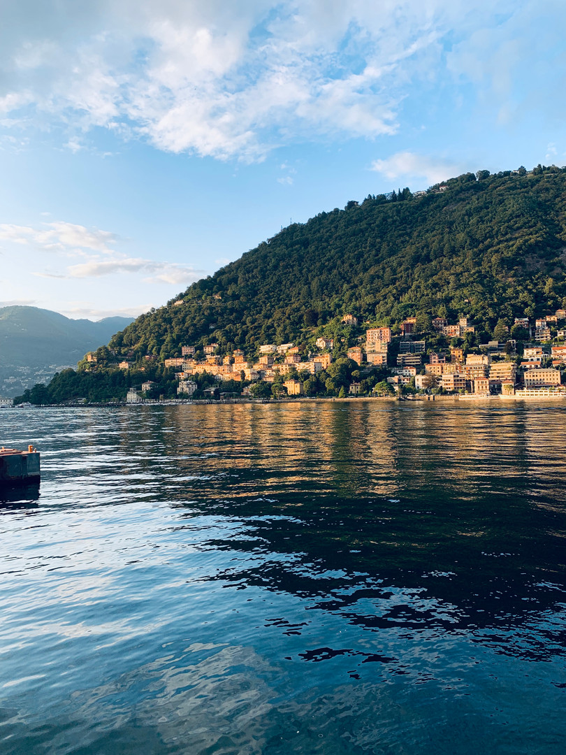 View of Lake Como.