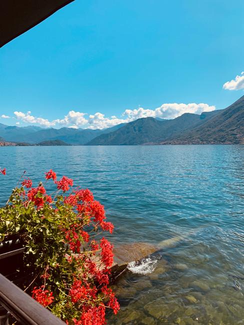 View of Lake Como, Italy.