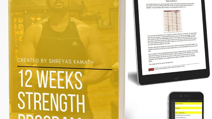 12 WEEK STRENGTH PROGRAM