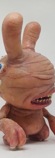 """Skin Monster 8"""" Dunny Custom"""