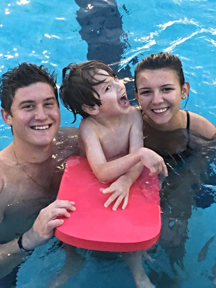 Meet the Next Olympic Gold Medal Swimmer, José!