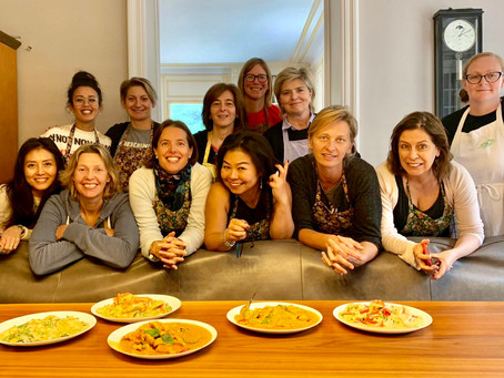 Thai cooking class in October