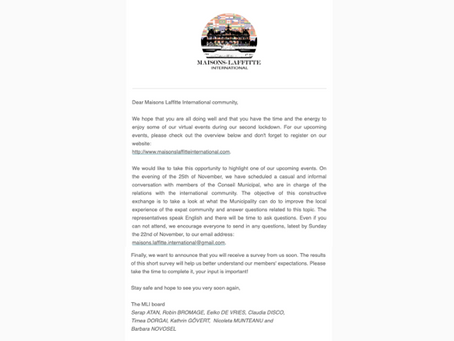 Newsletter - November