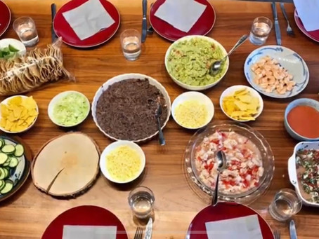 Mexican cooking class in June