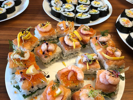 Japanese Cooking Class in May