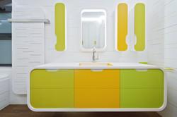 Salle de bain pour enfant
