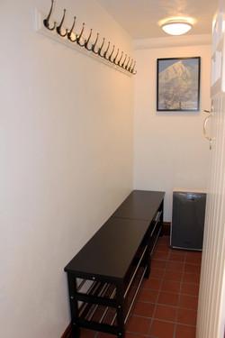 Lower ground floor drying room