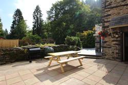 Lower ground floor patio/BBQ area