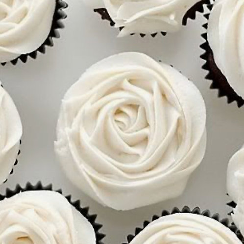 Classic Iced Rose Cupcakes