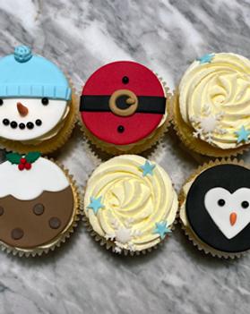 Chrismas Cupcakes