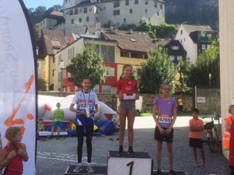 Jana Frick mit Podestplatz beim Feldkirchen Stadtlauf