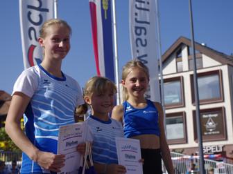Grossartige Leistungen unserer Athletinnen bei der Golden Fly Serie in Schaan