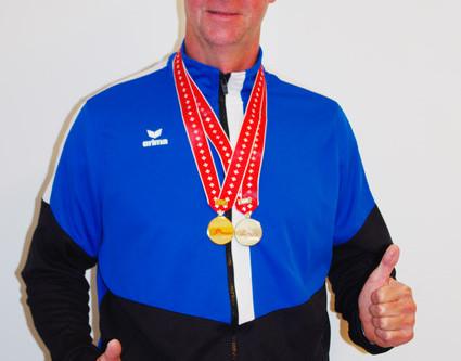 2xGold und 1xSilber für Walter Rohrer an der Schweizer Leichtathletik-Masters in Bellinzona