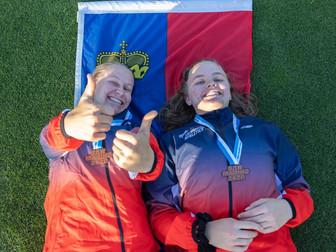 Höhenflug unserer Athleten an den CSSE in San Marino
