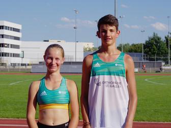 Julia und Joel am Kantone-Wettkampf in Winterthur