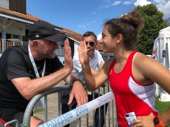 Diskus Landesrekord mit 39.35m durch Laura Rheinberger