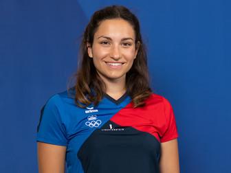 Laura Rheinberger als LCS Vertreterin in der LOC Athletenkommission