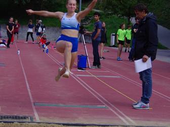 Julia Rohrer an der Schweizer Mehrkampfmeisterschaften in Hochdorf