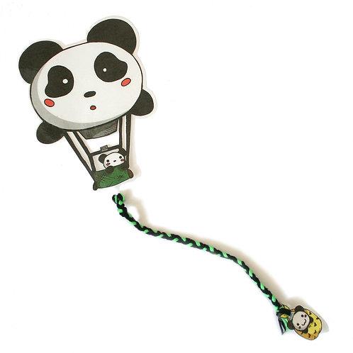 Pandaballon Lesezeichen