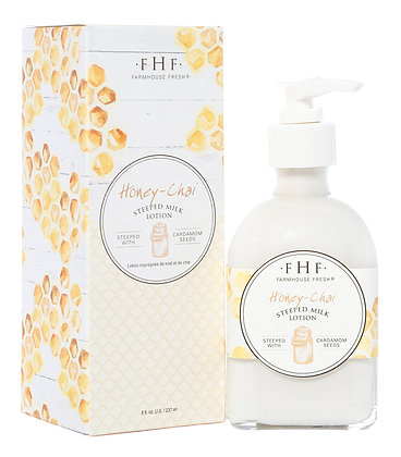Honey-Chai Steeped Milk Lotion