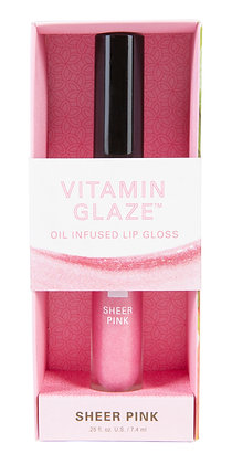 Vitamin Glaze Oil Infused Lip Gloss – Sheer Pink