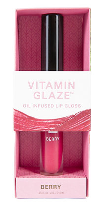 Vitamin Glaze Oil Infused Lip Gloss – Berry